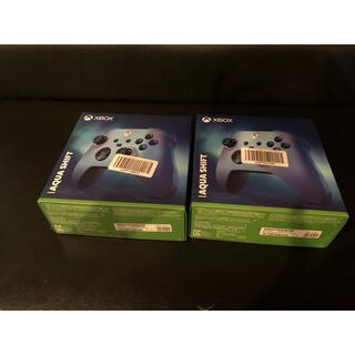 Xbox - XBOX ワイヤレスコントローラー アクアシフト×2セット
