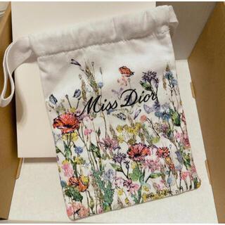 ディオール(Dior)の限定 ディオール ミスディオール 巾着 ポーチ 刺繍(ポーチ)