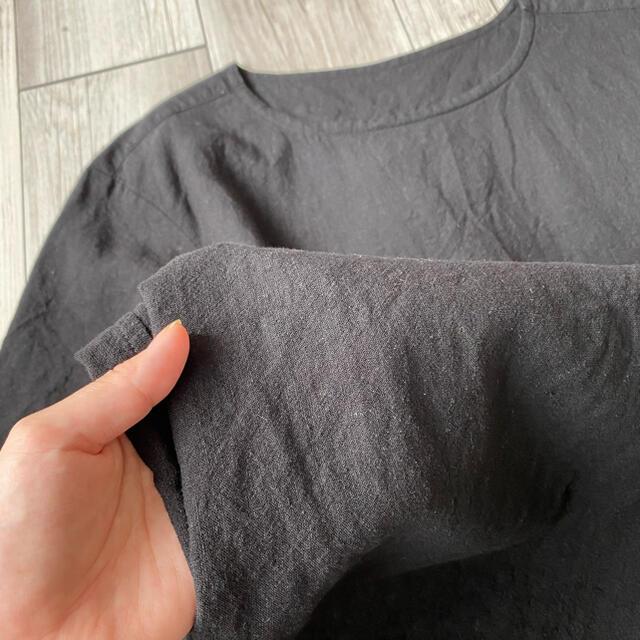ATTACHIMENT(アタッチメント)の【ATTACHMENT】カットソー 黒 size 1 メンズのトップス(Tシャツ/カットソー(半袖/袖なし))の商品写真