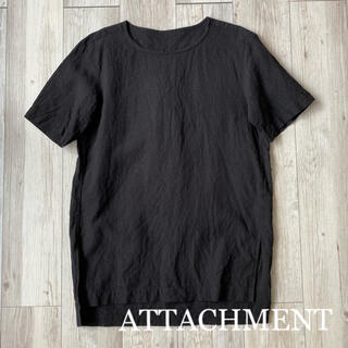 ATTACHIMENT - 【ATTACHMENT】カットソー 黒 size 1