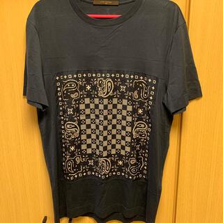 ルイヴィトン(LOUIS VUITTON)の正規 LOUIS VUITTON ルイ ヴィトン ダミエ バンダナ Tシャツ(Tシャツ/カットソー(半袖/袖なし))