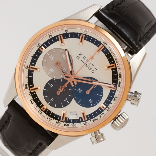 ZENITH(ゼニス)のゼニス ZENITH クロノマスター 腕時計 メンズ【中古】 メンズの時計(その他)の商品写真