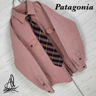 patagonia - 《大人気》Patagonia パタゴニア シャツ L☆ライトピンク 胸ポケット