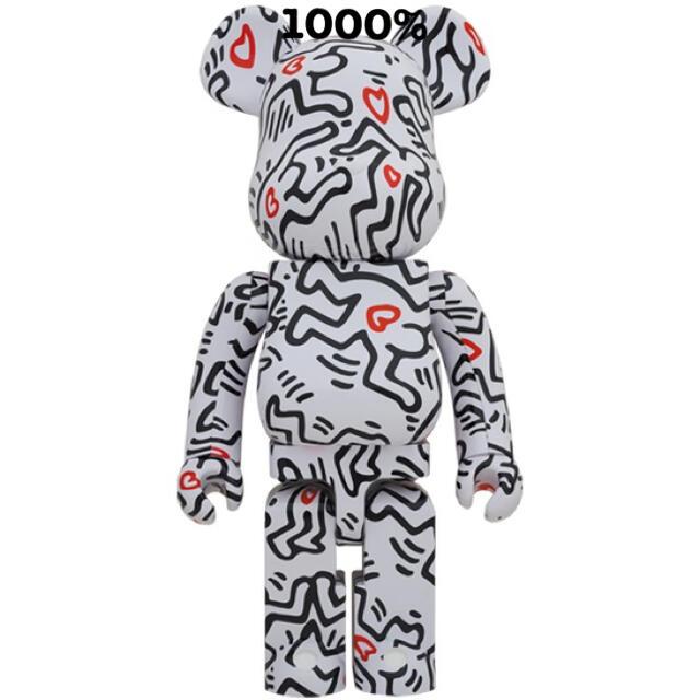 MEDICOM TOY(メディコムトイ)の新品未開封!BE@RBRICK KEITH HARING #8 1000% エンタメ/ホビーのおもちゃ/ぬいぐるみ(キャラクターグッズ)の商品写真