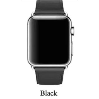 アップルウォッチ(Apple Watch)のApple watch用 レザーバンド 42/44mm(レザーベルト)