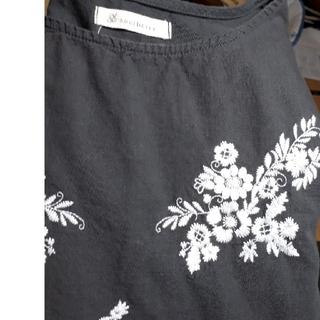 ソルベリー(Solberry)の🌼送料無料🌼soulberry 花刺繍 フレアスリーブブラウス(シャツ/ブラウス(長袖/七分))
