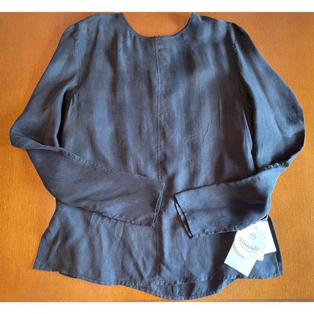 Mila Owen(ミラオーウェン)のセットアップ キュプラスリーブデザインブラウス ゴムショートパンツ レディースのパンツ(ショートパンツ)の商品写真