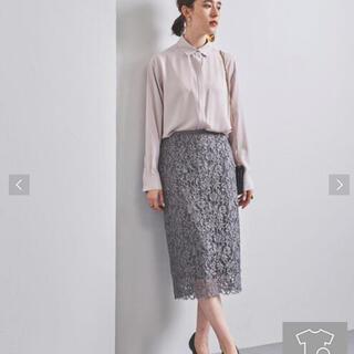 ユナイテッドアローズ(UNITED ARROWS)のユナイテッドアローズ  レースタイトスカート (ひざ丈スカート)