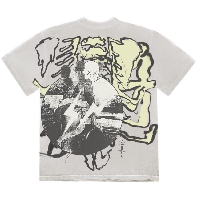 FRAGMENT(フラグメント)のtravis scott fragment design kaws サイズ XL メンズのトップス(Tシャツ/カットソー(半袖/袖なし))の商品写真