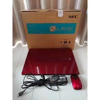 エヌイーシー(NEC)の本日のみ値下げ 美品 NEC ノートパソコン NS750 HAR(ノートPC)