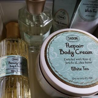 サボン(SABON)のSABON ホワイトティー ビューティーオイル、リペアボディ、香水など(ボディオイル)