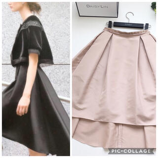 FOXEY - 美品 定価13万円 フォクシー FOXEY 最高級シルク ロング スカート