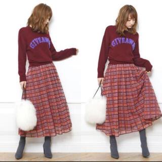 Mystrada - マイストラーダ  チェック刺繍ギャザースカート