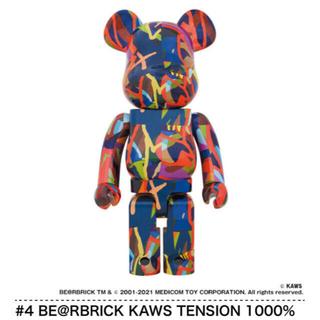 メディコムトイ(MEDICOM TOY)のBE@RBRICK KAWS TENSION 1000% TOKYO FIRST(その他)