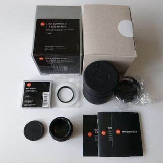 LEICA - Summilux M50mm F1.4 Black Chrome + フィルター