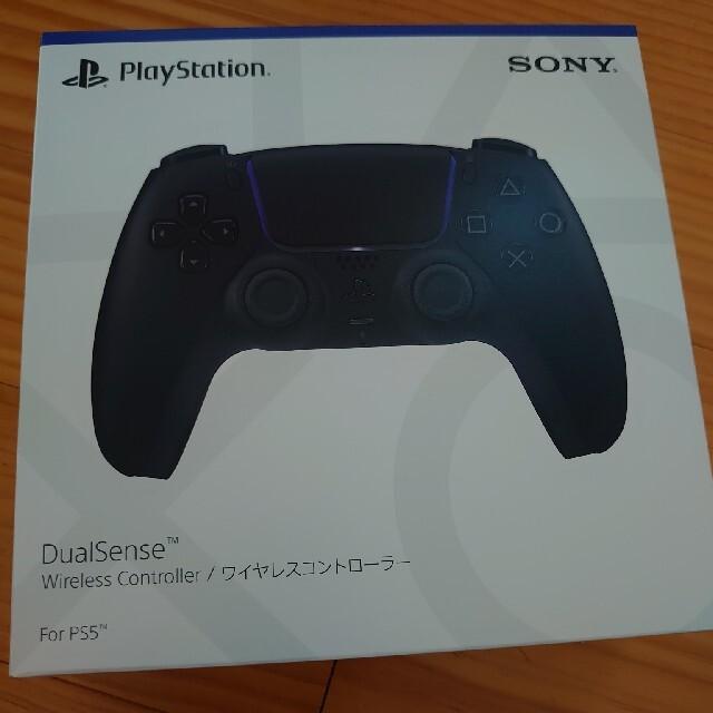 PlayStation(プレイステーション)の新型 PlayStation5本体+コントローラ黒のセット エンタメ/ホビーのゲームソフト/ゲーム機本体(家庭用ゲーム機本体)の商品写真