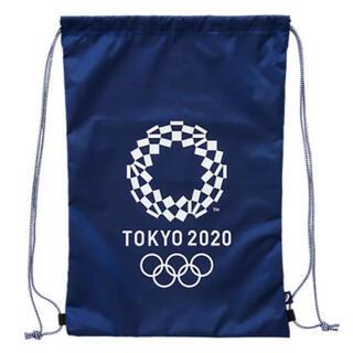 アシックス(asics)のAsics ライトバッグ(東京2020オリンピックエンブレム)(ノベルティグッズ)