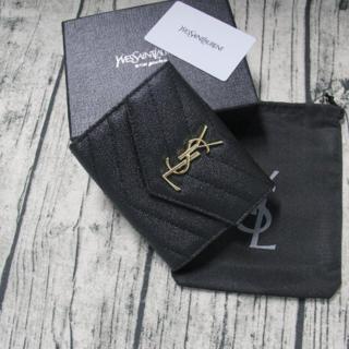 Yves Saint Laurent Beaute - ❀送料無料❀イブサンローラン♬小銭入れ❣ 3つ折り財布