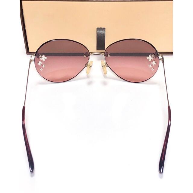 LOUIS VUITTON(ルイヴィトン)のmo様専用 LOUIS VUITTON フラワーデスマヨ・キャットアイ レディースのファッション小物(サングラス/メガネ)の商品写真