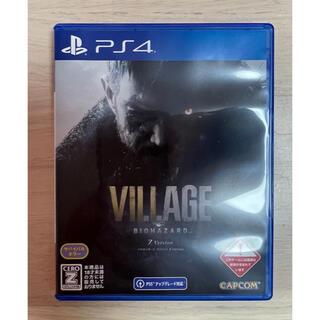 PlayStation4 - 新品未使用‼︎バイオハザード ヴィレッジ