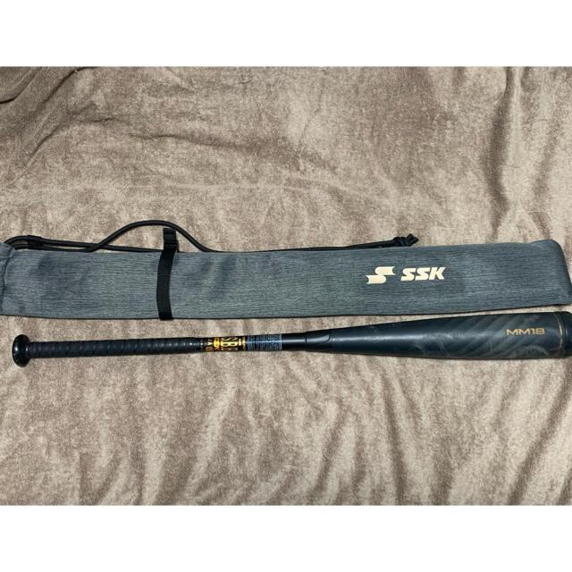 SSK(エスエスケイ)のSSK MM18 一般軟式 84cm トップバランス スポーツ/アウトドアの野球(バット)の商品写真