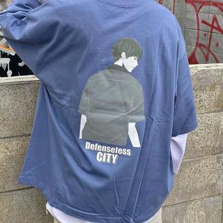 ウィゴー(WEGO)のWEGO/ヘビーウエイト イラストロゴビッグシルエットTシャツ(Tシャツ/カットソー(半袖/袖なし))