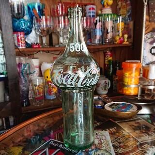 コカコーラ(コカ・コーラ)の昭和レトロ コカコーラ 500ml 変形瓶(その他)