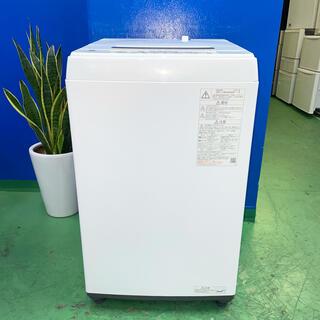 トウシバ(東芝)の⭐️TOSHIBA⭐️全自動洗濯機 2021年4.5kg美品 大阪市近郊配送無料(洗濯機)