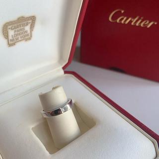 Cartier - カルティエCartier タンクリングダイヤモンド0.25ct#49