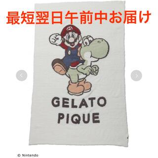 gelato pique - gelato piqueジェラート ピケ マリオブランケット マリオ&ヨッシー