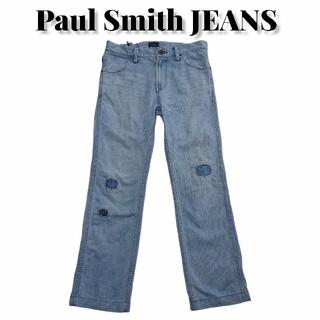 ポールスミス(Paul Smith)のPaul Smith JEANS ダメージ加工リメイクデニム ポールスミス古着(デニム/ジーンズ)