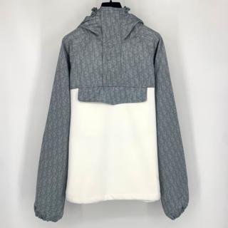 ディオール(Dior)の【DIOR】OBLIQUE テクニカルコットンジャージー アノラック(テーラードジャケット)