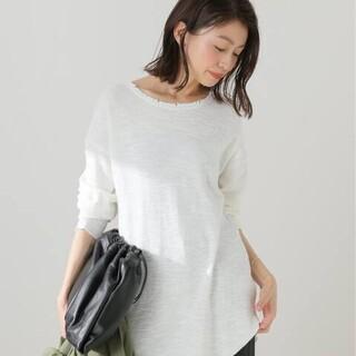 フレームワーク(FRAMeWORK)のスラブダメージロングTシャツ(Tシャツ(長袖/七分))