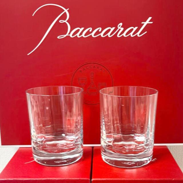 Baccarat(バカラ)のバカラ カプリ 新品ロックグラス タンブラー クリスタル 化粧箱Baccarat インテリア/住まい/日用品のキッチン/食器(食器)の商品写真