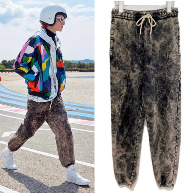 celine(セリーヌ)の21SS Celine セリーヌ エディスリマン ブリーチ加工 ジョガーパンツ メンズのパンツ(デニム/ジーンズ)の商品写真