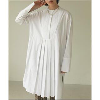 TODAYFUL - タグ付新品 TODAYFUL キルティングシャツドレス