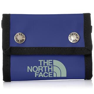 ザノースフェイス(THE NORTH FACE)の【新品未使用】THE NORTH FACE BC Dot Wallet ブルー(折り財布)
