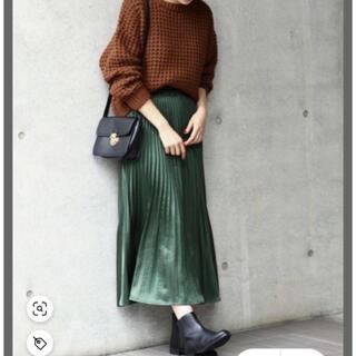 サニーレーベル(Sonny Label)の♡綺麗カラー プリーツスカート♡(ロングスカート)