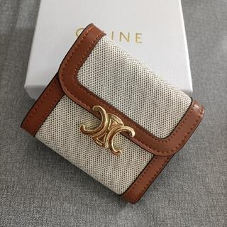 celine - 大人気♥三つ折り財布 セリーヌ♥小銭入れ 名刺入れ