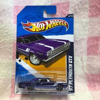 クライスラー(Chrysler)のホットウィール 67 プリマス GTX(ミニカー)