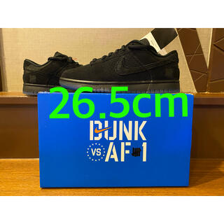 NIKE - UNDEFEATED×NIKE DUNK LOW BLACK ダンク 26.5