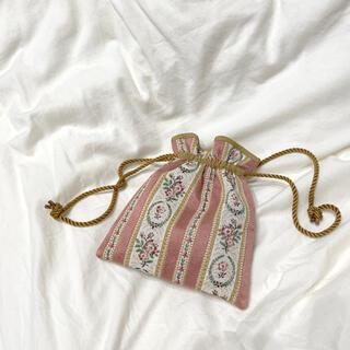 Grimoire - vintage  巾着バッグ