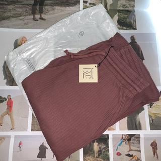 EDIT.FOR LULU - Baserange Sweat Pants - Rib cuka brown