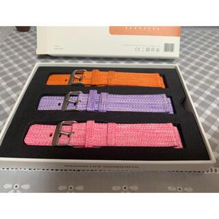 【新品】 スマートウォッチ ベルト 3色セット(腕時計)
