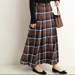 IENA SLOBE - SLOBE IENA BIGチェックボリュームスカート