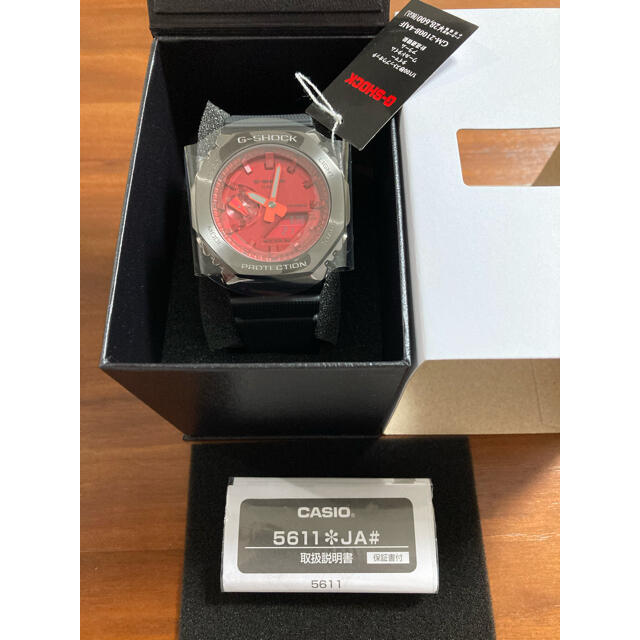 G-SHOCK(ジーショック)のカシオーク 新品未使用 GM-2100B-4AJF  gm2100 メンズの時計(腕時計(デジタル))の商品写真