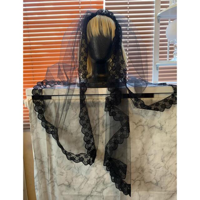 ALICE and the PIRATES(アリスアンドザパイレーツ)のMorun Muuna Stoik チュールベールヘッドドレス ハンドメイドのアクセサリー(ヘアアクセサリー)の商品写真