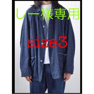 コモリ(COMOLI)のcomoli デニムワークジャケット 21SS(Gジャン/デニムジャケット)