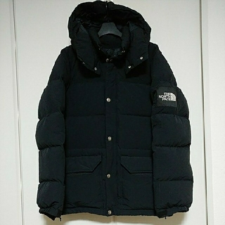 THE NORTH FACE - ノースフェイス キャンプシエラ ダウンジャケット コート メンズS 黒 ブラック