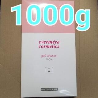 エバメール(evermere)のエバメール ゲルクリーム 詰替え用 (E) 1000g(オールインワン化粧品)